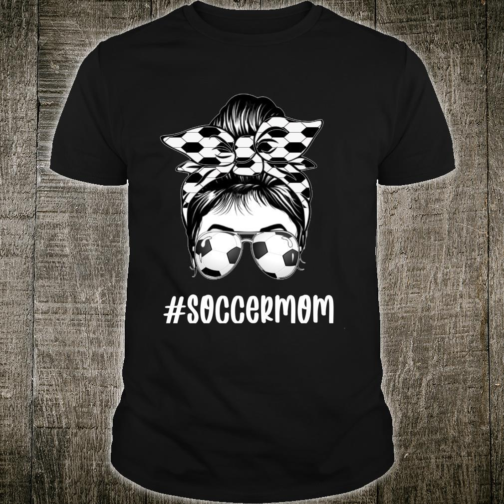 Mother's Day Soccer Mom Heart For Soccers Shirt